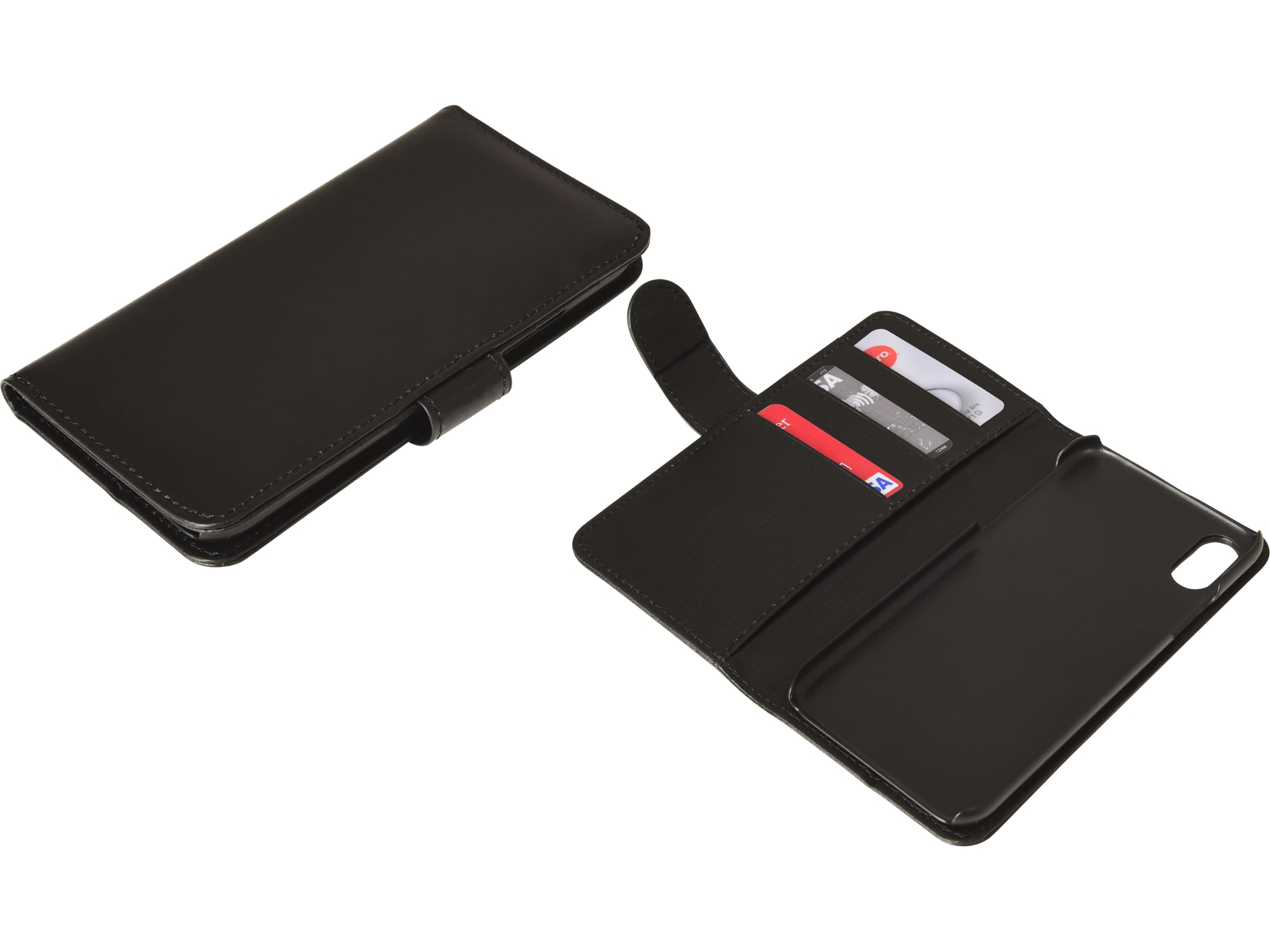 Flip wallet iPhone X/XS Black