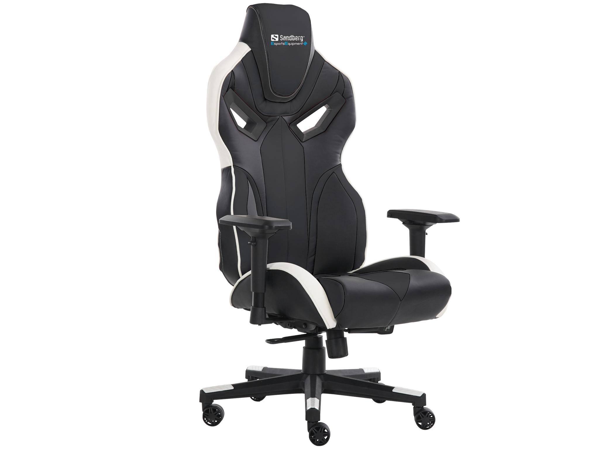 Voodoo Gaming Chair Black/Whit