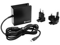 USB-C PD AC-Charger 90W EU+UK