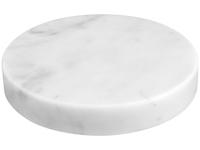 Marble Stone Charger White