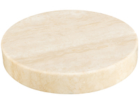 Marble Stone Charger Beige