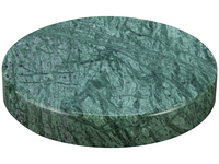 Marble Stone Charger Green
